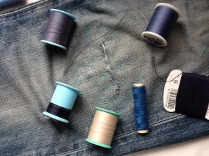 縫い糸の色選び
